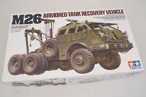 Tamiya 35244 U.S.M26 Armored Réservoir Recovery 1:3 5 Modélisme