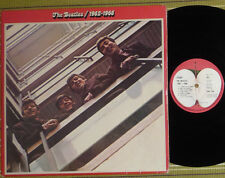 THE BEATLES, 1962-1966, 2xLP 1973 UK EX/EX/VG+ LAMINATED/GATEFOLD/SL 2 INNER/SL