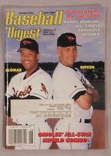 June 1996 Baseball Digest Roberto Alomar Cal Ripken Jr Orioles ex