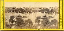 FESCOURT STEREOVIEW VUES DU MIDI SOUTHERN FRANCE ARENA & ESPLANADE NIMES  1873