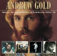 ANDREW GOLD - ANDREW GOLD+WHAT'S WRONG WITH THIS PICTURE...(+BO 3 CD NEU