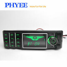 Radio Bluetooth Car Auto Player Stereo Fm Dash Dvd Usb Audio Mp3 Gps Din Aux