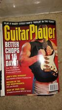 Guitar Player magazine april 1999 NUNO steely dan tab free usa ship