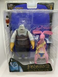 NECA Series 5 Nightmare Before Christmas Behemoth w Bunny,Axe Action Figure NEW