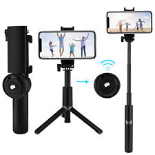 Bluetooth Remote Selfie Stick Tripod Monopod For Samsung S9 S10 5G Plus Note 9 8