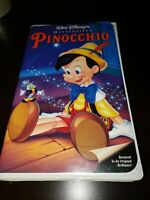 Pinocchio (VHS, 1993) Clamshell case