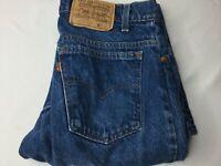 Vintage Levi's 550 Jeans Sz 31 x 32 Straight Leg Distressed USA Made Stone Wash