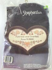 VTG Wedding Sampler Cross Stitch Kit 803519 Good Shepherd 1984