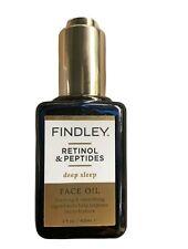 Findley Retinol & Peptides Deep Sleep Face Oil, 2 fl Oz. New!