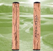 "Cork tree ""stumpy"" oversize liège golf putter grip, reverse conique, noir"