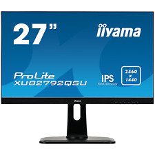 "iiyama ProLite XUB2792QSU-B1 68,6m / 27"" 16:9 WQHD DP/DVI/HDMI 5ms IPS LED"