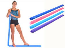 Juperbsky Balance Beam Half Folding Gymnastics Kids Floor Skill Training 8ft