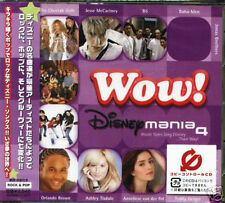 Wow! Disneymania 4 - Japan CD NEW Everlife,Miley Cyrus