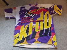 Vintage Ski-Doo Rotax Racing Snowmobile Sno Gear Jersey Shirt Large MXZ