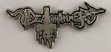 Deathhammer - Logo Metal Pin Antichrist Destruction Nekromantheon Kreator Sadus