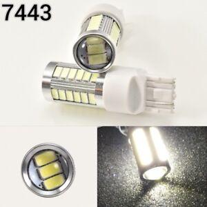 Brake Light T20 7443 7444 992 33 SMD White 6000K LED K1 For Acura Honda HAK
