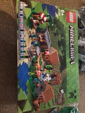 Minecraft Lego 21128 - The Village New with Open Box