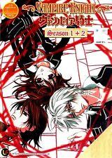 Vampire Knight Season 1 + 2 Full Series DVD in English Audio