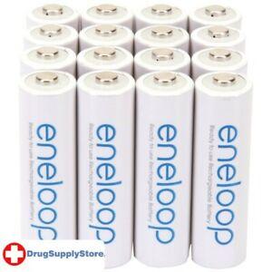 PE eneloop(R) Rechargeable Batteries (AA; 16 pk)