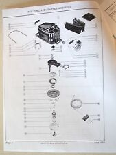 Mercury Outboard Merc 110 Parts Manual 70's-80's (9.8 hp)