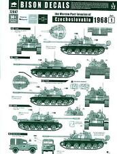 Bison Decals 1/72 THE WARSAW PACT INVASION OF CZECHOSLOVAKIA 1968