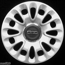 FIAT 500L 2012-> COPRICERCHIO COPPA RUOTA COPPONE 15''  1 PZ COPPA HUB CAPS