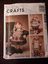McCalls Craft Pattern #8258 / Professional Bunnies / New / Unused / Teacher +