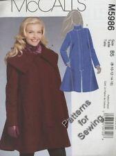 Pattern McCalls Sewing Woman Winter Jackets Coats Sz 8, 10, 12, 14,16 NEW