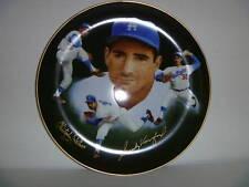 SANDY KOUFAX - Los Angeles Dodgers 1985 Dual Autographed Plate VERY RARE