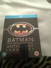 Batman The Motion Picture Anthology 1989-1997  Blu-ray box set