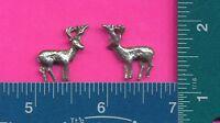 100 wholesale lead free pewter deer figurines m11067