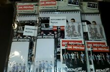 12 Pc Lot One Direction Stationary Sets  Wholesale Closeout BX24