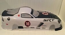 1/10 drift and touring car Dodge Viper White style fits many vehicles