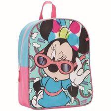 Disney Minnie Mouse Bookbag Glitter Girls New w/ Tags Free Ship Cute Rainbow