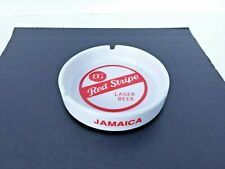 Red Stripe Lager Beer - Jamaica - Vintage Ashtray