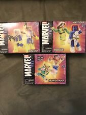 Marvel Minimates Lot: Rogure Mystique Cable Bishop Iron Fist Power Man
