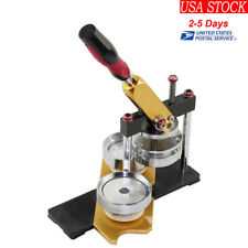 Portable Diy Button Maker Badge Making Machine Round 58mm Die Mould High Quality