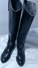 Vintage knee high leather boots Size 6B Made in USA