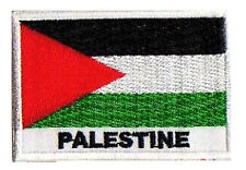 Ecusson patch patche pays drapeau PALESTINE 70 x 45 mm