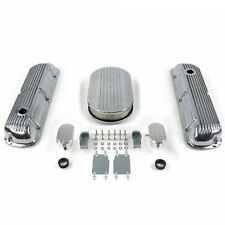 SBF 15 Half Oval/Finned Engine Dress Up kitw/ Breathers (PCV) 289-351 rat