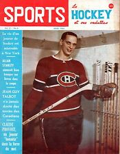 1964 (Mar.) Sports Le Hockey Magazine, Jacques Laperriere, Montreal Canadiens~Gd