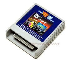 FLIGHT SIMULATOR II für Atari XL und XE als Cartridge RX 8091