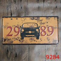 Metal Tin Sign beep! Decor Bar Pub Home Vintage Retro Poster Cafe ART