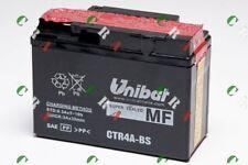 CTR4A-BS  BATTERIA MOTO/SCOOTER ORIGINALE UNIBAT PER HONDAX8R-X / X8R-S501999
