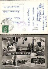 396749,Oberwiesenthal Sprungschanze Seilbahn Warte Winterbilder Mehrbildkarte