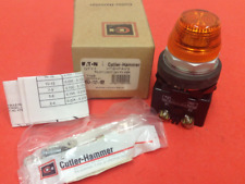 Cutler-Hammer - Catalog #HT8HFAV3 - Amber Pilot Light - NEW