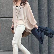 Chiffon Casual Button Down Shirts for Women
