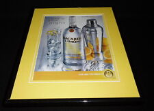 2004 Bacardi Limon Rum Framed 11x14 ORIGINAL Advertisement