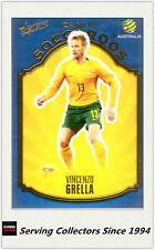 2009-10 Select A League Soccer Card Socceroos S1: Vince Grella