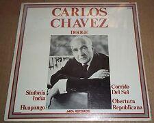 Carlos Chavez conducts Sinfonia India, Huapango - MCA LPR 41020 SEALED
